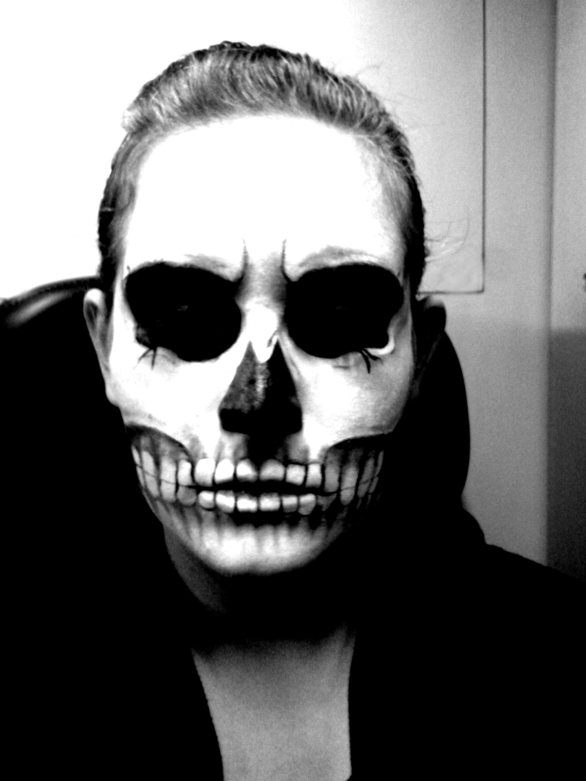 skull make up by NashiHoshi