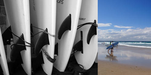 Sea Sun and Surf