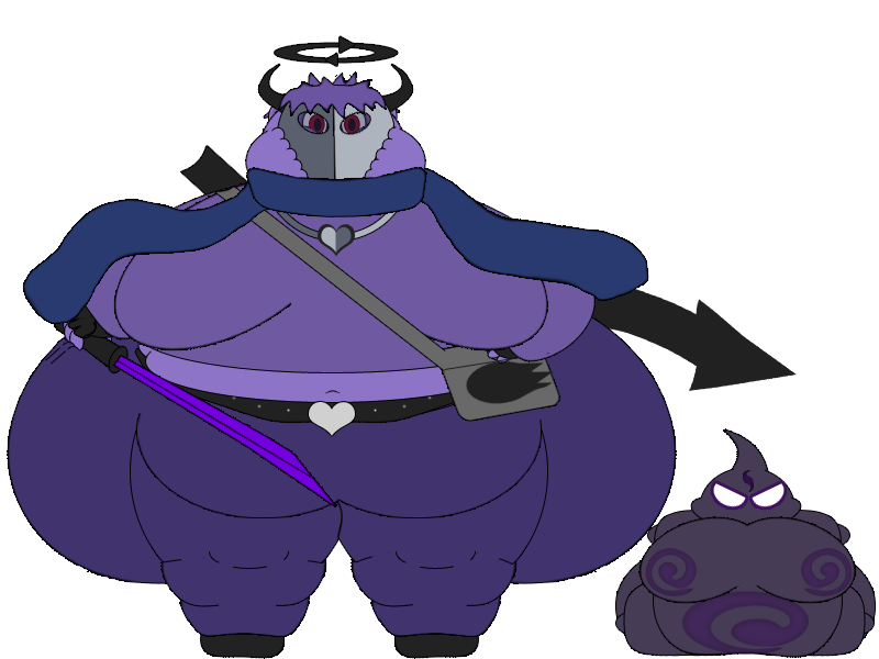 Fatty Alterdeus by BlubberButts