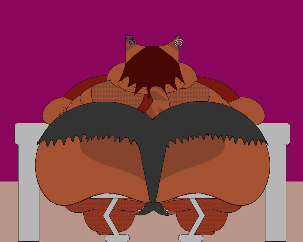 Buffet Butt by BlubberButts