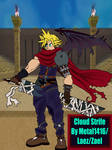 Cloud Strife (Kindom Hearts version) by metal1416