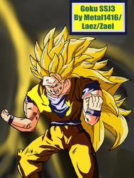 Goku SSJ3 by metal1416