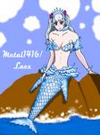 Noelle Silva Valkirie: Mermaid form (black clover) by metal1416
