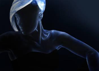 Vision of Blue by GhostHorseStudio