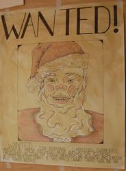 WANTED! Sketcy Santa by GhostHorseStudio