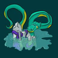 The Sea Monster And The Kraken v2