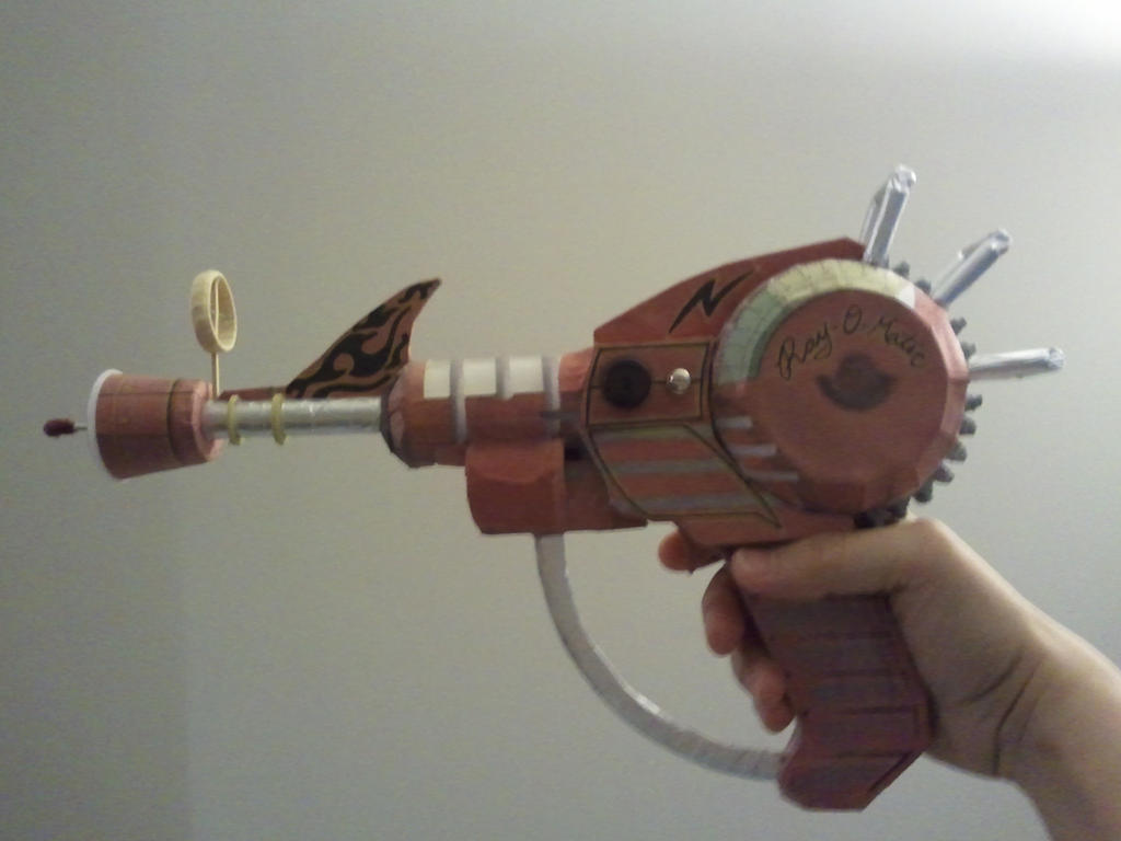 Call Of Duty Ray Gun Papercraft 2013-04-27 18.31 By