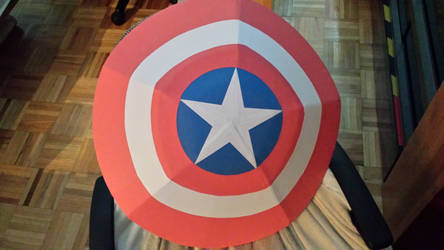 Captain America's Shield papercraft, my version.