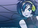 Blue Face Wallpaper