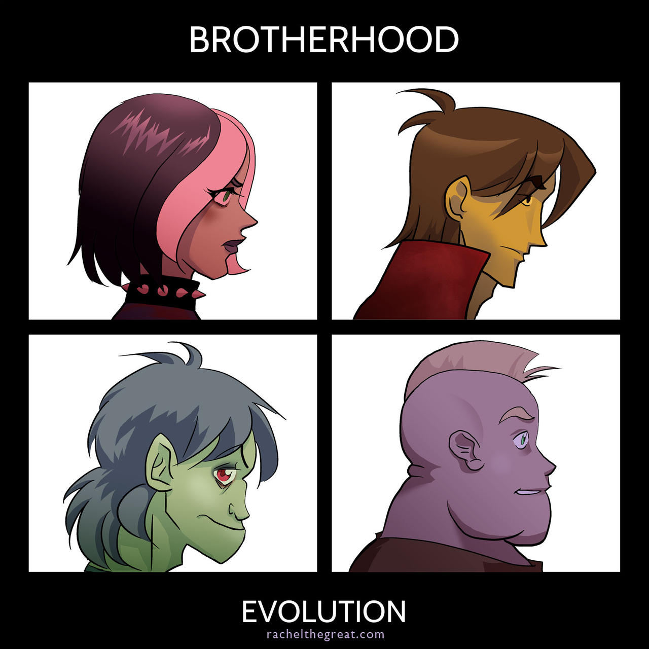 Evolution Album Art by rachelthegreat