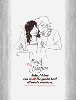 Ray and Josefine by rachelthegreat