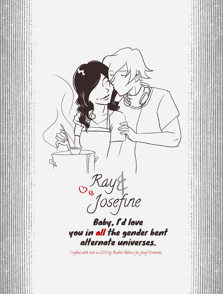 Ray and Josefine by rachelthegreat