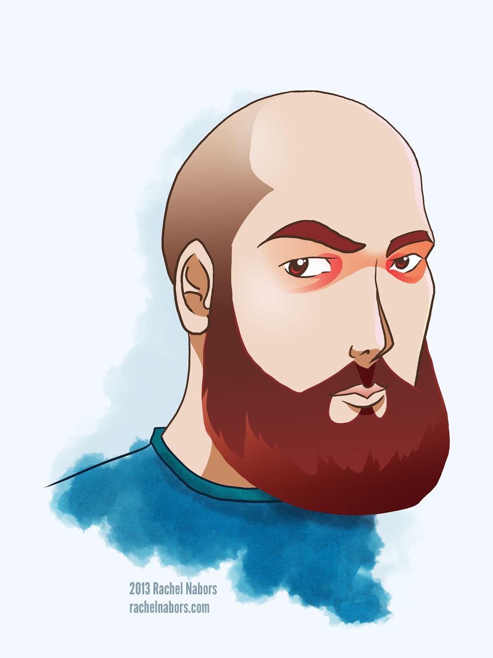 Barry's Beard by rachelthegreat