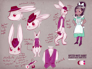 Alice in Videoland Character Sheet-Hipster Rabbit
