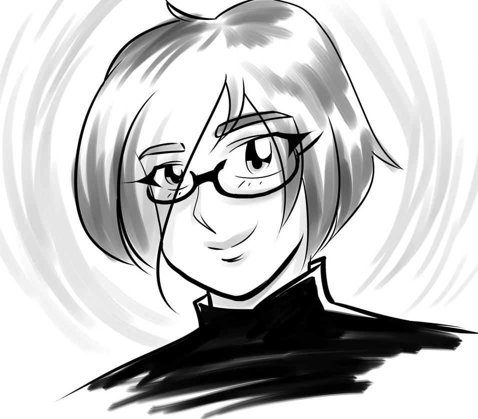 Self portrait by rachelthegreat