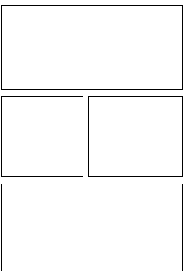Blank comic panels the image kid has it for Four panel comic strip template
