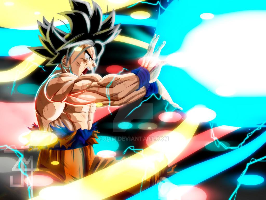 Goku limitbreaker kamehameha by JI4M