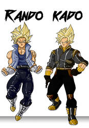 The Saiyan Twins: Rando y Kado (Bio) by JI4M