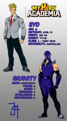 BNHA OC: Syd/Gravity