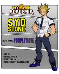 Syd Stone (A.K.A.) Purplewave - Uniform