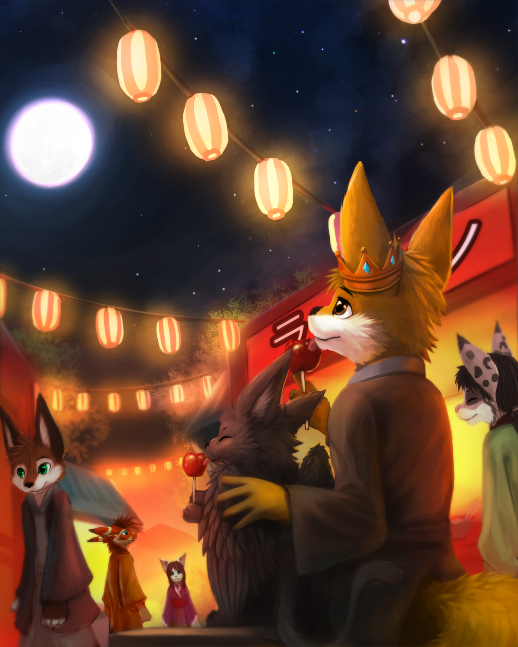 [Commision] We love candies by thanshuhai