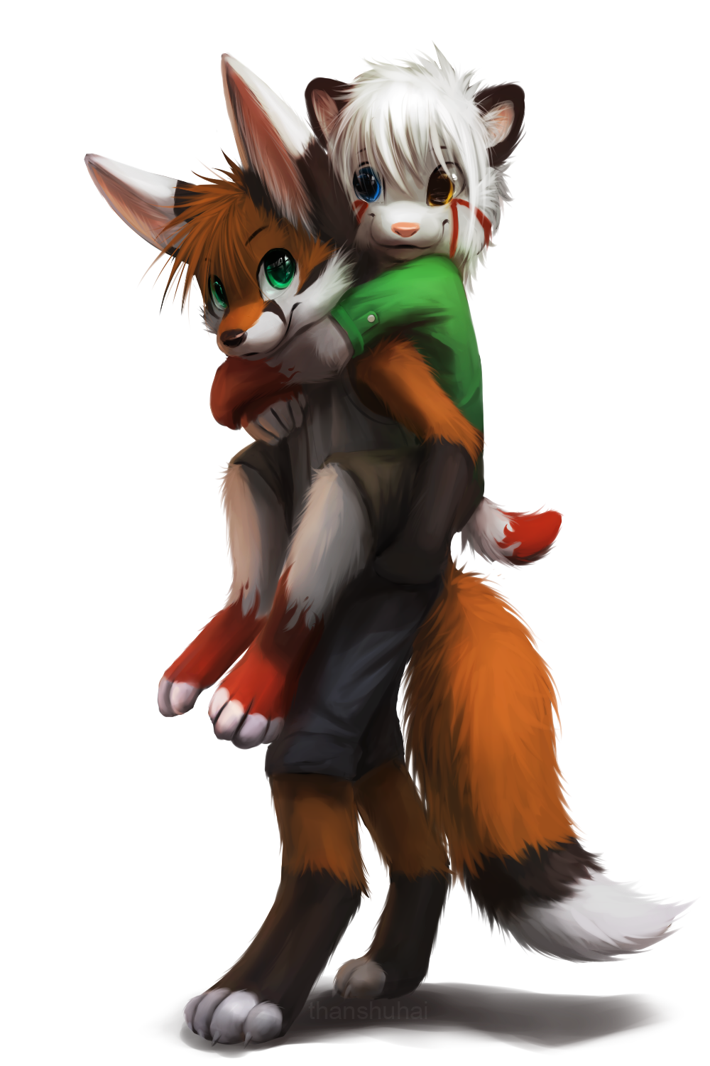 I'll carry you anywhere~ by thanshuhai