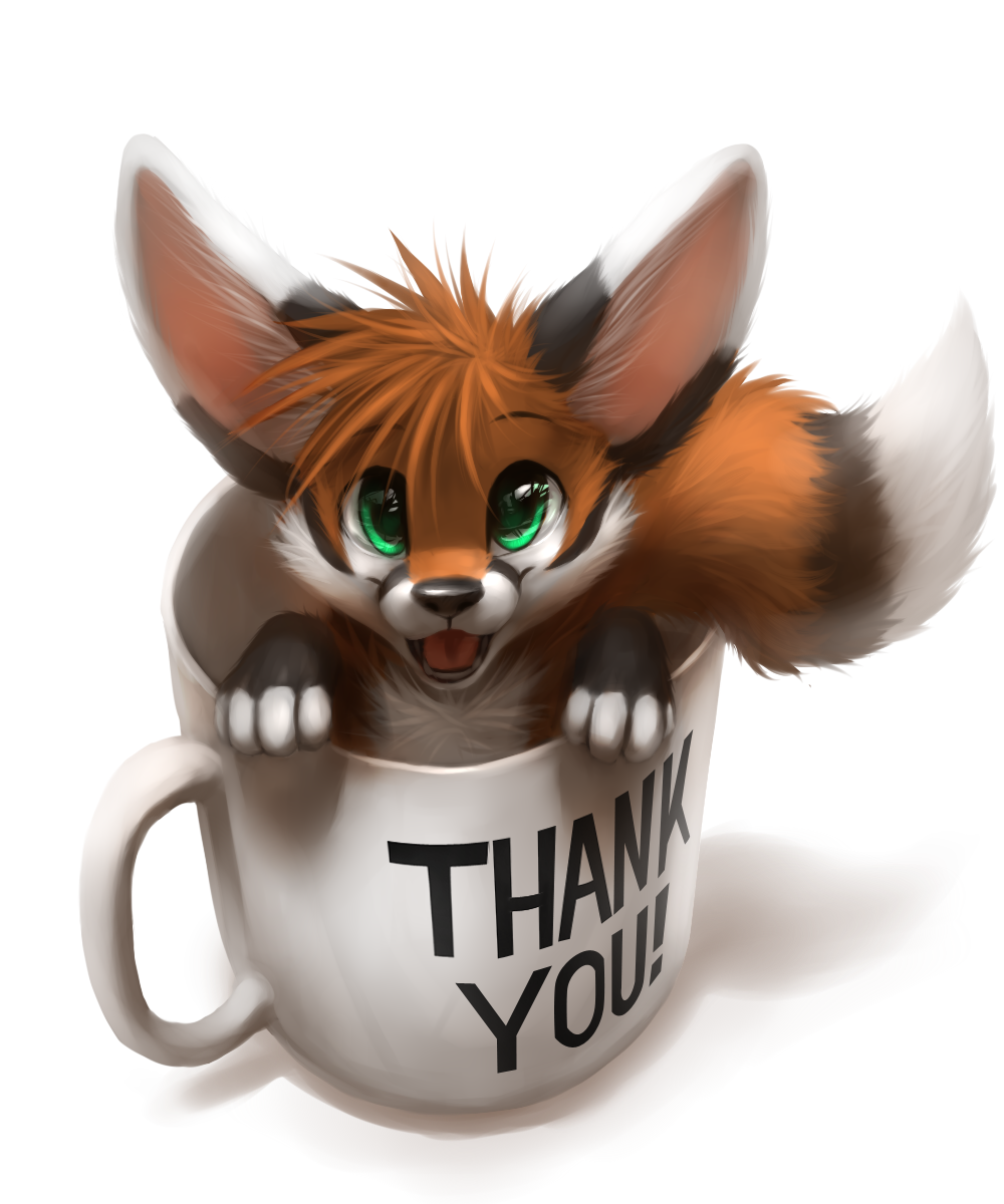 A Mug of Fluff by thanshuhai