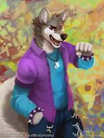 [CM] crazy-husky by thanshuhai