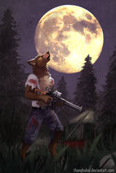 Howling with Rifles by thanshuhai