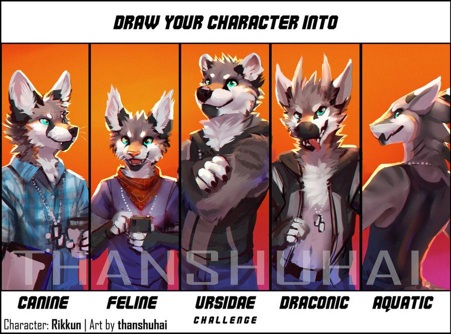 Character Species Challenge: Rikkun