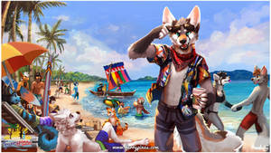 Furrypinas 2019: Out in the Beach