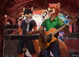 Foxes and Peppers in the Cavern