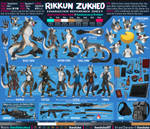 Rikkun Zukheo - Reference Sheet