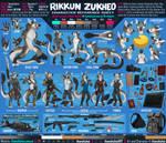 Rikkun Zukheo - Reference Sheet