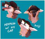 Merpkun with his cap