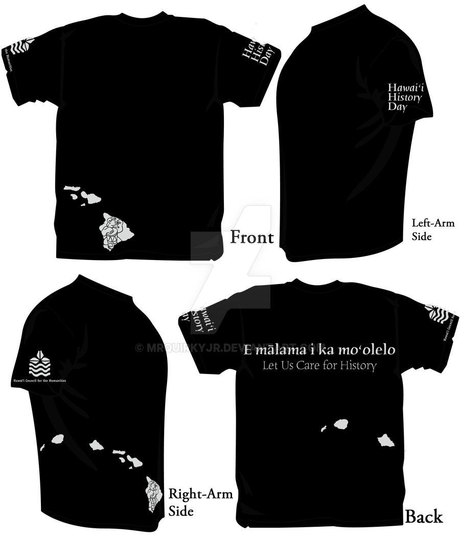 T shirt design hawaii -  Hawaii History Day T Shirt Design By Mrquirkyjr