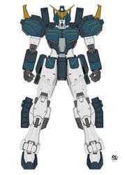 XXXG-01H2 Gundam Heavyarms Kai by wind2800