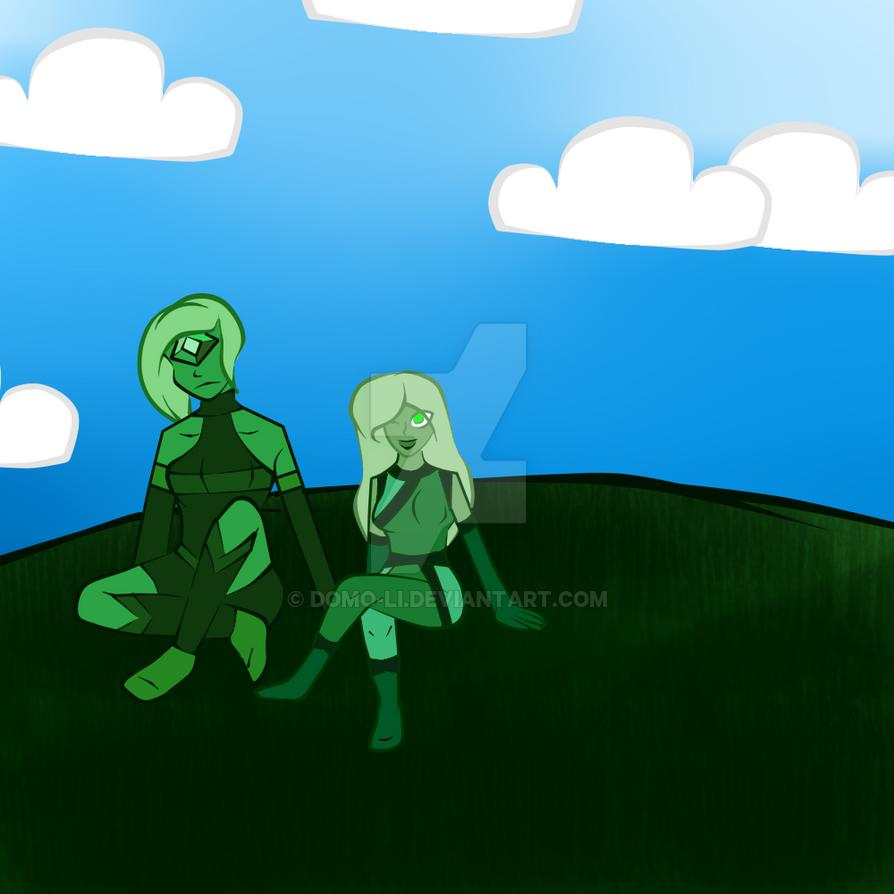 Emerald } By Domo-Li On DeviantArt
