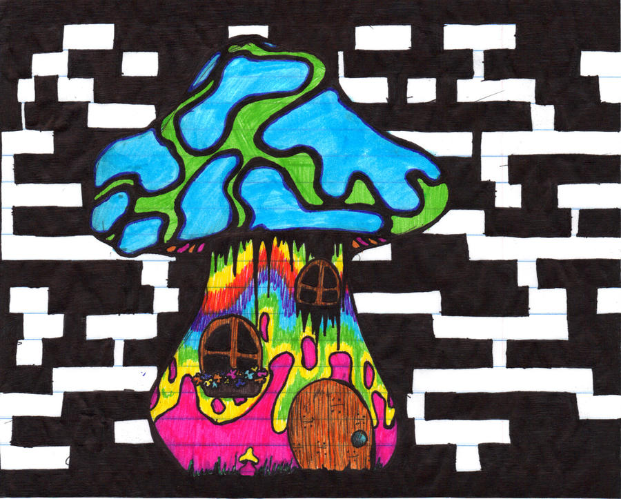 Trippy house 28 images drawing nature psychedelic for Trippy house music