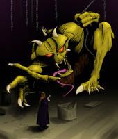 Demon Hunting by Hopfield
