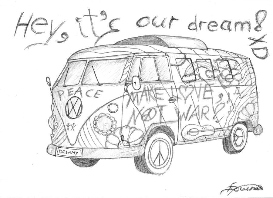 hippie bus v 0 1 by elandir on deviantart. Black Bedroom Furniture Sets. Home Design Ideas