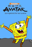 Spongebob as aang by nixoner
