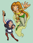 Martha and Svetlana