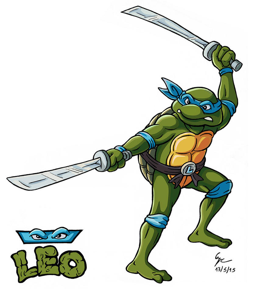 Teenage Mutant Ninja Turtles: Leo by gaucelm