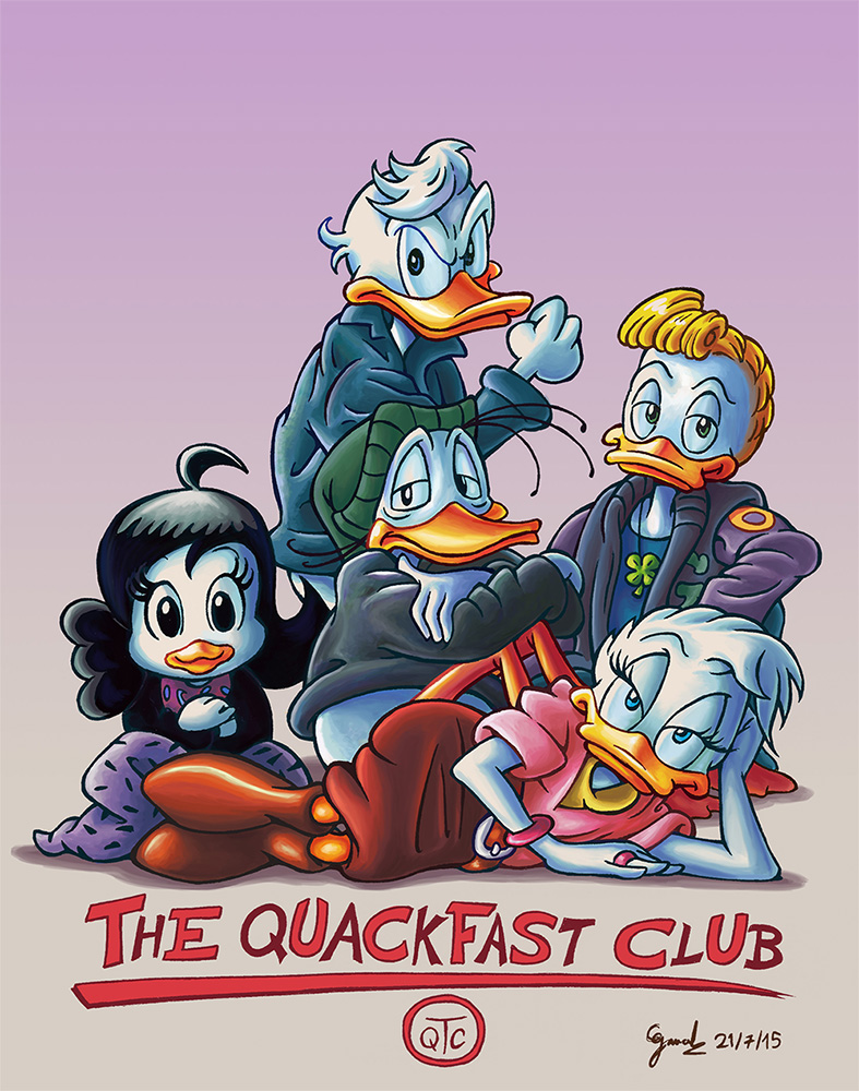 The Quackfast Club by gaucelm