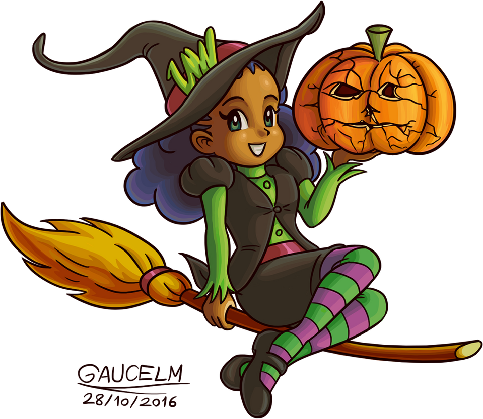 LMW-tan: Halloween by gaucelm