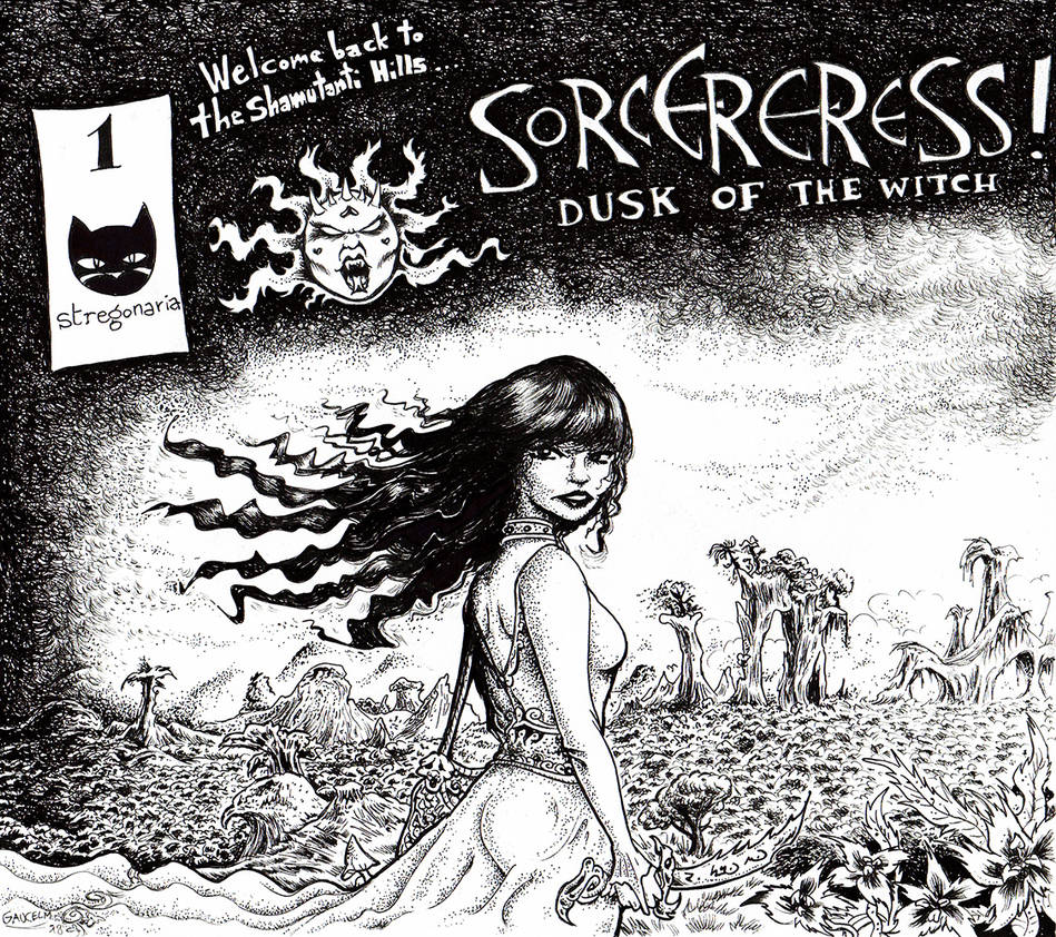 Sorceress! Dusk of the Witch by gaucelm