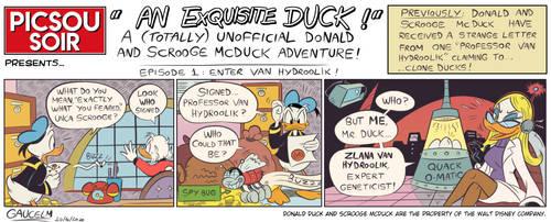 An Exquisite Duck! -episode 1: Enter Van Hydroolik
