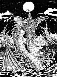 The Dragon of the Lake