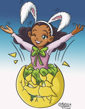 LMW-tan: Eggscellent Easter